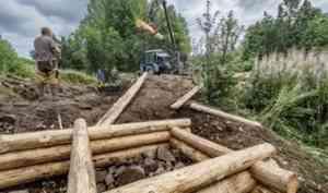 Волонтеры помогли в сохранении одиннадцати памятников архитектуры в Кенозерье