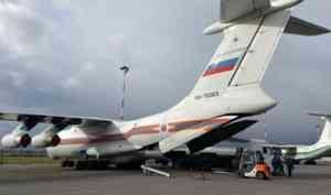 Борт МЧС России доставит гуманитарную помощь в Анголу и Кабо-Верде