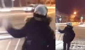 Пока выспали: снежком влицо— подростки напали наженщину вцентре Архангельска