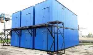 В колонии строгого режима на Пирсах сделали модульные здании для Севмаша