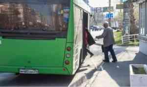 В Архангельске для автобусного маршрута №180 вводят нерегулируемый тариф