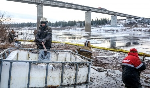 В НАО до сих пор не ликвидировали последствия разлива нефти