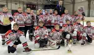 Юные хоккеисты Архангельска - победители межрегионального первенства «Золотое кольцо»