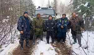 Житель Северодвинска провёл четыре дня в лесу, питаясь снегом