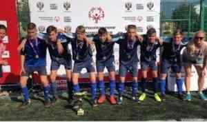 Команда Поморья привезла победу со всероссийского турнира по юнифайд-мини-футболу