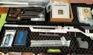 Параатлеты Поморья получили новый спортинвентарь для пулевой стрельбы