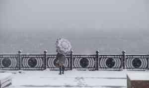 24 октября в Архангельске пройдёт снег