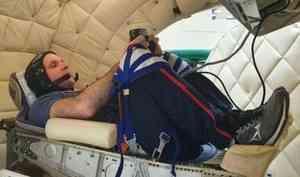 Уроженец Североонежска Иван Вагнер проходит реабилитацию после полёта в космос