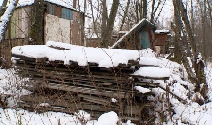 ВАрхангельске продолжают сносить нелегальные гаражи иаварийные дома