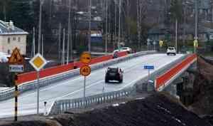 ВВельске открыли движение помосту через реку Вагу