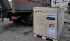 В Котласскую городскую больницу поставлен компьютерный томограф для инфекционного отделения