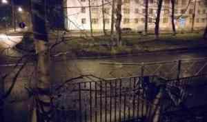 В Северодвинске сбивший пешехода пьяный водитель оставил место аварии