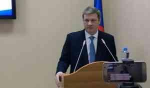 Работы много: первые слова Дмитрия Морева в статусе главы Архангельска
