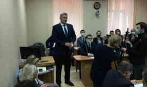 Архангельские депутаты тепло попрощались с экс-градоначальником Игорем Годзишем