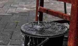 В Северном округе Архангельска на одну ночь отключат воду
