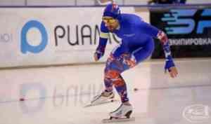 Архангельский конькобежец выиграл бронзовую медаль на чемпионате России