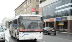 В Архангельске увеличили количество автобусов на маршрутах