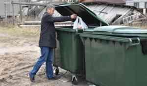 В Вельске начался процесс замены контейнеров для ТКО