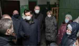 Александр Цыбульский: «Работу медпункта в Цигломени необходимо возобновить»