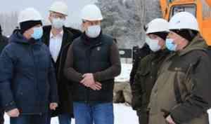 Реконструкция КОС в поселке Октябрьский – под пристальным вниманием специалистов