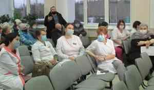 Глава министерства здравоохранения региона лично встретился сврачами «бунтующей» горбольницы Коряжмы