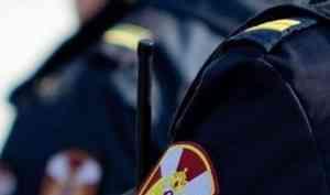 В одном из торговых центров Архангельска наряд Росгвардии задержал подозреваемого в кражах алкогольной продукции