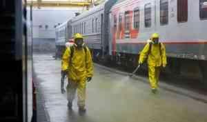 Силами МЧС России продезинфицировано более 45 тыс. зданий и сооружений транспортной инфраструктуры