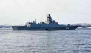 Видео: «Адмирал Горшков» вновь стрельнул «Цирконом» из акватории Белого моря