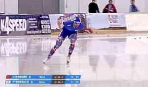 Конькобежец Александр Румянцев взял золото навсероссийском турнире вСанкт-Петербурге