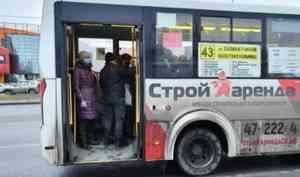 В Архангельске на восьми маршрутах количество автобусов увеличено на 22 единицы