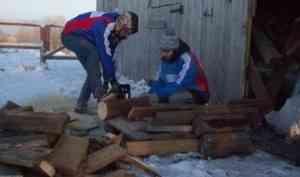 Отряды «Полярного десанта» оказали трудовую помощь населению
