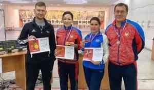 Стрелки Архангельской области завоевали три медали навсероссийском турнире
