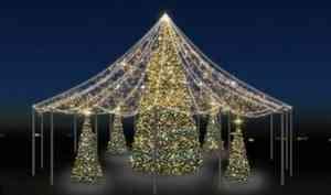 Дмитрий Морев пообещал архангелогородцам «красивое новогоднее оформление города»