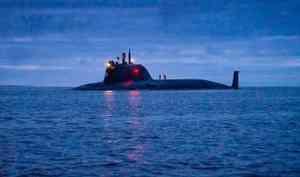 Новейшая АПЛ Северного флота входе испытания выполнила пуск противокорабельной ракеты изБелого моря