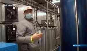 Вкотласской городской больнице появилась новая кислородная станция