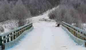 Местные жители возмутились качеством ремонта разрушенного моста в Плесо