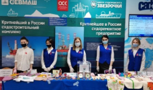 Волонтеры САФУ провели благотворительную ярмарку