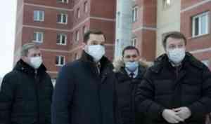 Александр Цыбульский оценил готовность строителей региона к наращиванию объемов возведения жилья