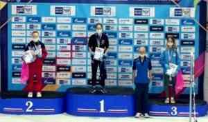 Коряжемская спортсменка взяла бронзу на первенстве России по плаванию