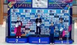 Екатерина Золотова из Коряжмы – призер первенства России по плаванию