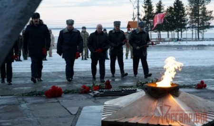В Архангельске представители Росгвардии приняли участие в памятном мероприятии, посвящённом Дню Неизвестного Солдата