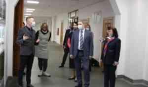 Глава Архангельска Дмитрий Морев посетил Северный (Арктический) федеральный университет