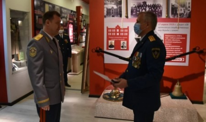 В АГПС МЧС России состоялся выпуск слушателей факультета руководящих кадров