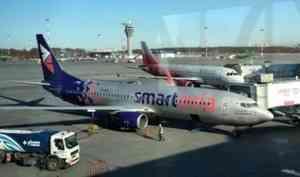 Архангельский клиент «Смартавиа» недоволен отсутствием мыла в туалетах самолетов
