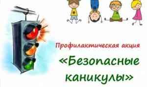 Профилактическое мероприятие «Детям - безопасные каникулы»