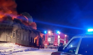 Рождественский пожар в Нарьян-Маре – люди выбегали на мороз без одежды