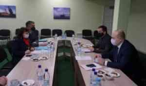 Руководство САФУ и губернатор Архангельской области обсудили развитие НОЦ