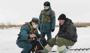 МЧС России проводит рейды с любителями порыбачить