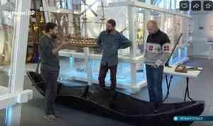 Коллекцию Северного морского музея пополнила лодка-осиновка