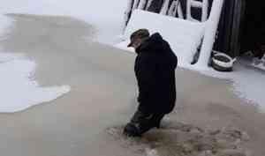 ВПлесецком районе вочередной раз затопило посёлок Самодед
